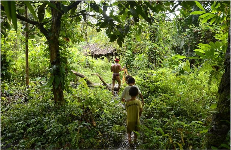 «Un regard, des sourires»  Mentawaï 2013-15